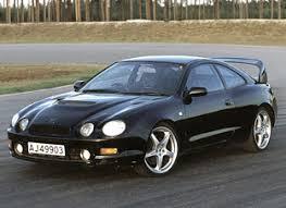 toyota celica gt4 review toyota celica gt four sports cars