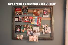 diy framed holiday card display teach love craft