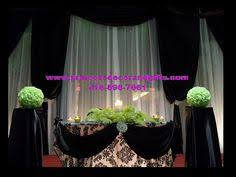 wedding backdrop mississauga platinum silver white backdrop wedding decor tables