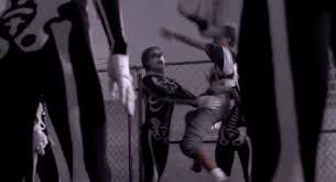 karate kid skeleton costume skeleton gif find on gifer