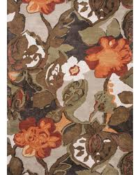 6x6 Area Rugs 29 Petal Pusher Handmade Floral Light Gray