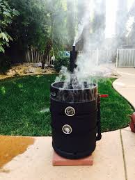Buy A Keg Diy Meat Smoker Made From A Keg Shell Completed Projects