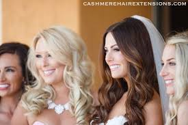 Temporary Hair Extensions For Wedding Cashmere Hair Wedding Hairstyle Cashmere Hair Clip In Extensions
