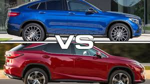 lexus suv coupe mercedes glc coupe vs lexus rx road test youtube