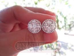 diamond earrings philippines 7 carat illusion diamond earrings ka045 for sale
