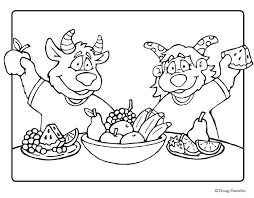 healthy coloring pages kids dental health coloring sheets