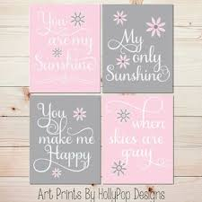 Pink And Gray Nursery Decor Pink Gray Nursery Decor Baby Nursery You Are My