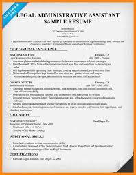 Law Office Assistant Resume Resume Cv Cover Letter Senior Administrative Assistant Resume