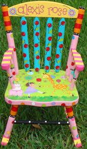 pink kids rocking chair best 25 painted rocking chairs ideas on pinterest rocking