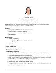 flight attendant resume sle resume without objective beautiful flight attendant resume