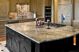 Kitchen Island Granite Countertop Kitchen Design Astounding Granite Countertops For Large Black