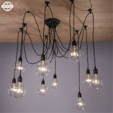 Antique Pendant Lights E27 Diy Ceilling Droplight Antique Pendant Lights 110 220v Classic