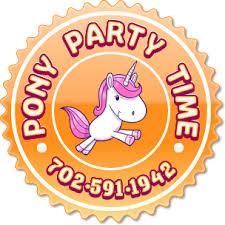 party rental las vegas pony party time las vegas nv