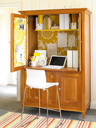 Laptop Desk Armoire Revamped Armoires For Small Space Storage Armoires Magazine