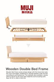 Double Bed by Best 25 Wooden Double Bed Frame Ideas On Pinterest Gold