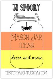 halloween mason jar ideas including crafts and decor halloween