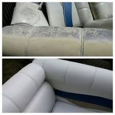 How To Clean Boat Upholstery Mold Mildew Removed From My Vinyl Boat Seats I Used Soft Scrub