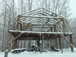 Gambrel Pole Barn by Timber Frames Green Mountain Timber Frames Middletown Springs