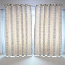 Curtains Ring Top Am1 Room Geometric Pair Door Window Curtains Ring Top Eyelet Panel