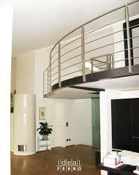 ringhiera soppalco soppalco con ringhiera in acciaio inox soppalco loft