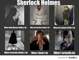 Funny Sherlock Memes - sherlock via tumblr discovered by ayesha fathima