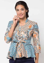 gambar model baju batik modern model baju batik modern wanita terbaru di tahun 2018 distributor
