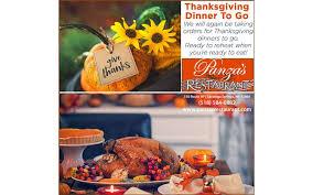 nov 17 2017 thanksgiving with panza s restaurant friday nov 17
