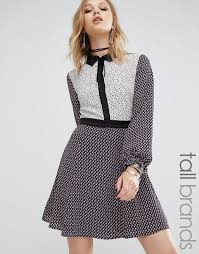 brautkleid spitze tã ll glamorous ausgestelltes hemdkleid aus satin kupfer damen
