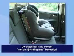 siege auto bebe confort 0 1 bébé confort opal autostoel installatie met de rijrichting mee