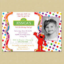 template cheap elmo birthday invitations 2 year old with