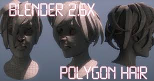 Mens Hairstyle Generator by Blender 3d Polygon Hair Youtube