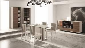 Lacquer Dining Room Sets Made In Portugal Dining Table With Clear Glass In Grey Lacquer