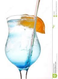 blue lagoon cocktail blue lagoon cocktail stock image image 15109031