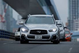 nissan infiniti 2017 nissan tests fully autonomous driving on tokyo roads real world