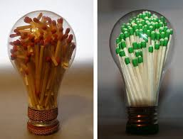 clever craft ideas for repurposing light bulbs