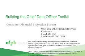 consumer financial protection bureau cdo financial services 2017 powell consumer finance