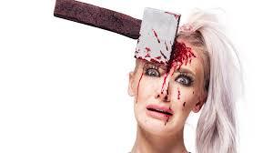 shot out eye sfx makeup tutorial