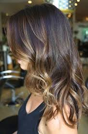 hair highlights bottom medium length hair highlights with caramel color
