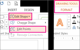 design von powerpoint in word draw a picture by combining and merging shapes office support