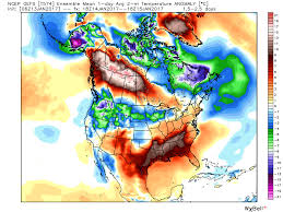 Jet Stream Forecast Map News Pattern Reversal Brings A Widespread January Thaw The