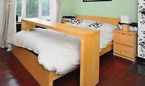 bed table on wheels freelywheely contemporary light oak ikea over bed table on wheels