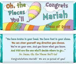oh the places you ll go graduation oh the places you ll go graduation 1 55 oz candy bar wrappers