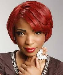 2018 latest short layered hairstyles for black women