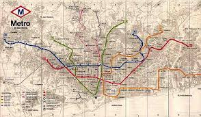 the metro map spain europe int l subway maps mega net