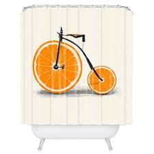 Orange Shower Curtains Buy Orange Shower Curtain From Bed Bath Beyond