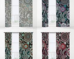 mandala curtains etsy