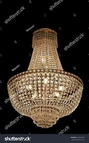 big old expensive chandelier stock photo 218254318
