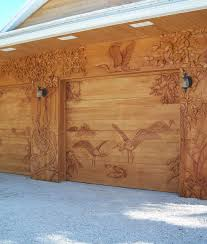 garage doors custom carved wood entry doors garage doors wall panels