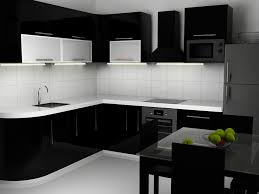 black kitchen furniture interior design kitchen with captivating black and white
