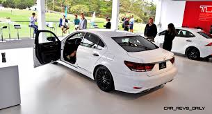 lexus white ls car revs daily com 2015 lexus ls460 f sport crafted line is most